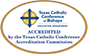 TX Catholic Acredited Logo